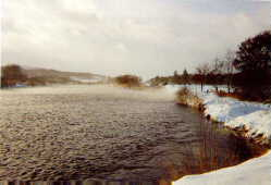 Der River Dee im Winter